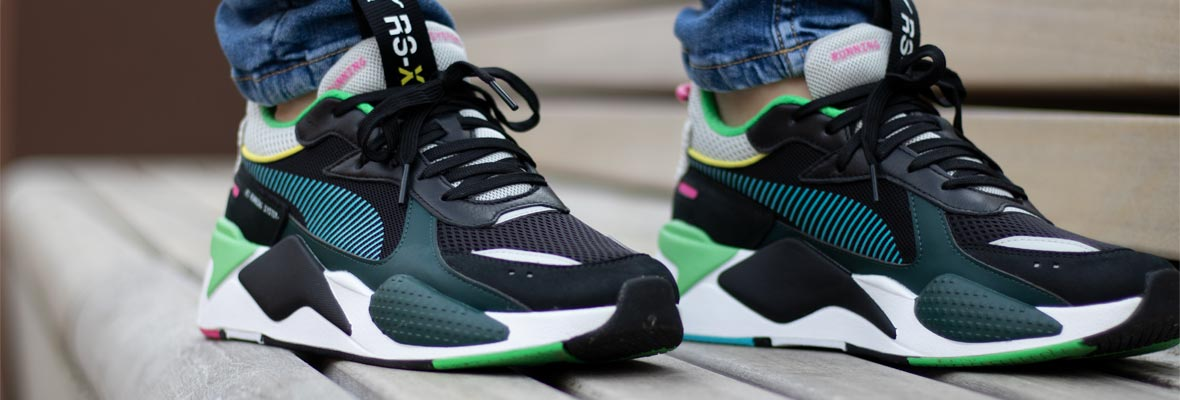 Complete Puma RS-X Toys On Foot Review
